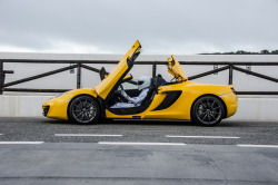 fullthrottleauto:  McLaren MP4-12C Spider (by Rowan Horncastle)