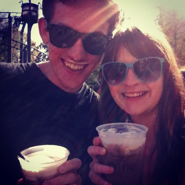 Butterbeer! (at The Wizarding World Of Harry Potter)
