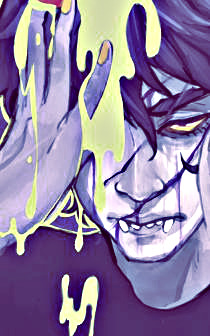 peixesness:  Gamzee Makara- / ♦ / The only miracle here, is that I'm not dead