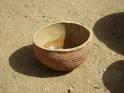 thejogging:  Small Earthenware Bowl Filled with a Mix of Cool Water and Acqua di Giò, 2012 Terracotta Bowl, cologne ´´´