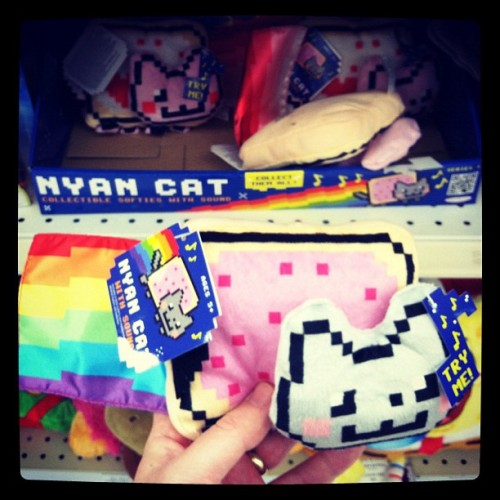 "ramhatter:  If you need a plush Nyan Cat, Toys ""R"" Us has you covered. (at Toys ""R"" Us)"