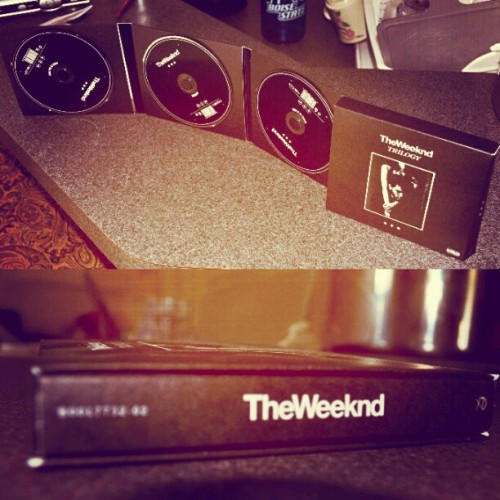 gorgeousammy:  Got my 3-Disk set of the weeknds tapes XO
