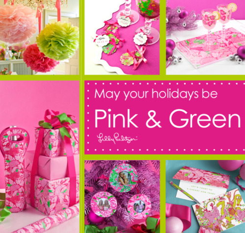 I just love a Lilly holiday!
