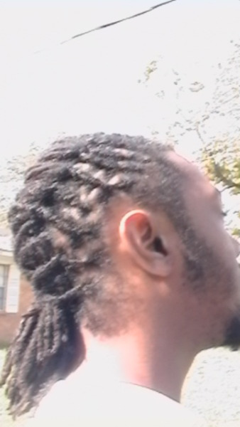 Did my friends locs…retwist n style