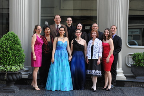 This is a picture of our families (and one friend) on our wedding day in May. Everyone in the picture except us is straight, and we couldn't have gotten to where we are without all of their support and the support of our many straight allies (including our coworkers). Thank you everyone!—Nicol & Steph