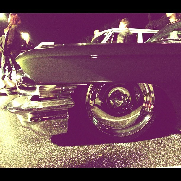 @mr_pq #cadillac #turkeyrun #daytona #bagged #low