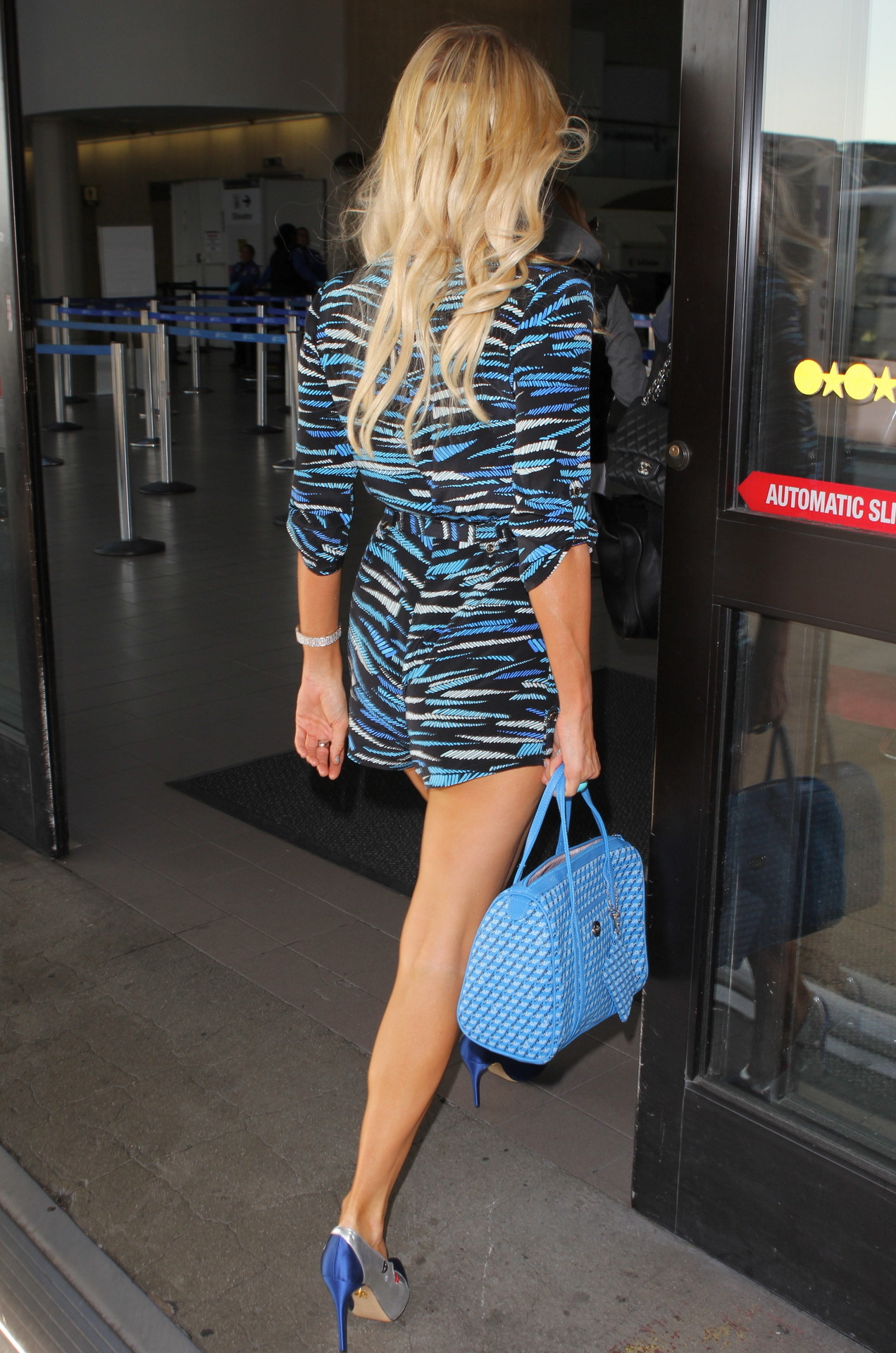 Paris Hilton arrives at LAAirport 11/2/12 More pics of Paris Hilton on SwaGirl.com