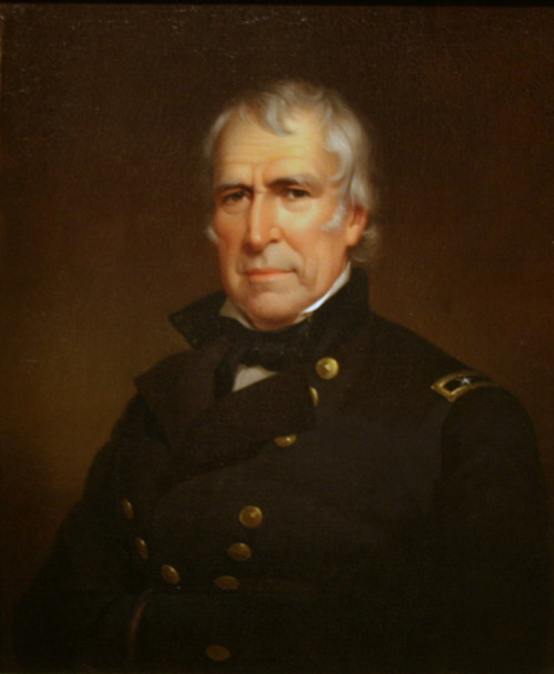 todayinhistory:November 24th 1784: Zachary Taylor bornOn this day in 1784 the future 12th President of the United States, Zachary Taylor, was born in Virginia. Before becoming President Taylor lead a distinguished military career, serving in the War of 1812 and leading America to victory in the Mexican-American War. He was elected President in 1848 as a Whig. He died a year and a half into his presidency and was succeeded by Vice-President Millard Fillmore. He was the last slave-holding President.