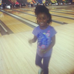 Harts #family bowling lol (at AMF El Dorado Lanes)