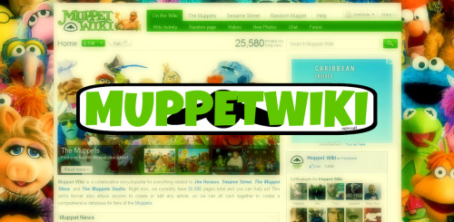 """Muppet Wiki is a collaborative encyclopedia for everything related to Jim Henson, Sesame Street, The Muppet Show, and The Muppets Studio. Right now, we currently have 25,580 pages total and you can help us! This wiki's format also allows anyone to create or edit any article, so we can all work together to create a comprehensive database for fans of the Muppets."" Visit here!"