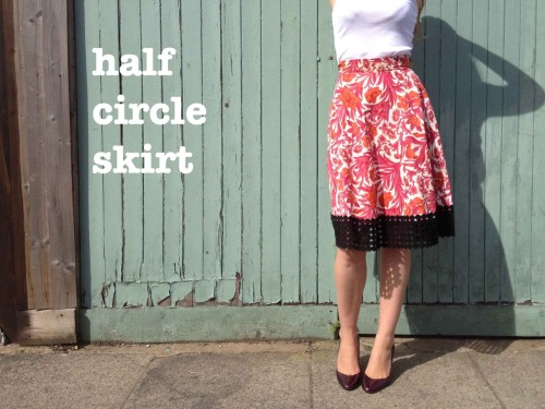 truebluemeandyou:  DIY Full Circle Foolproof Skirt Tutorial from By Hand London here. This afternoon I got a message asking about tutorials for circle skirts that actually worked and remembered this one that I hadn't posted. There are calculations for full, half and quarter circle skirts.