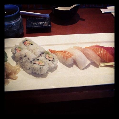 Lunch #sushi (at Barracuda Sushi)
