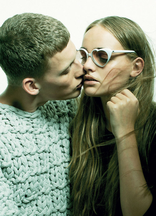 "telvinarman:  Bastian Thiery in ""And Your Kiss"" by Niclas Heikkinen for Sleek Magazine Fall/Winter 2012 (Styling by: Lorena Maza)"
