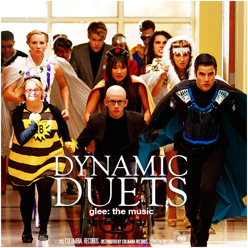 Glee: The Music, Dynamic Duets Requested Alternative Album Cover