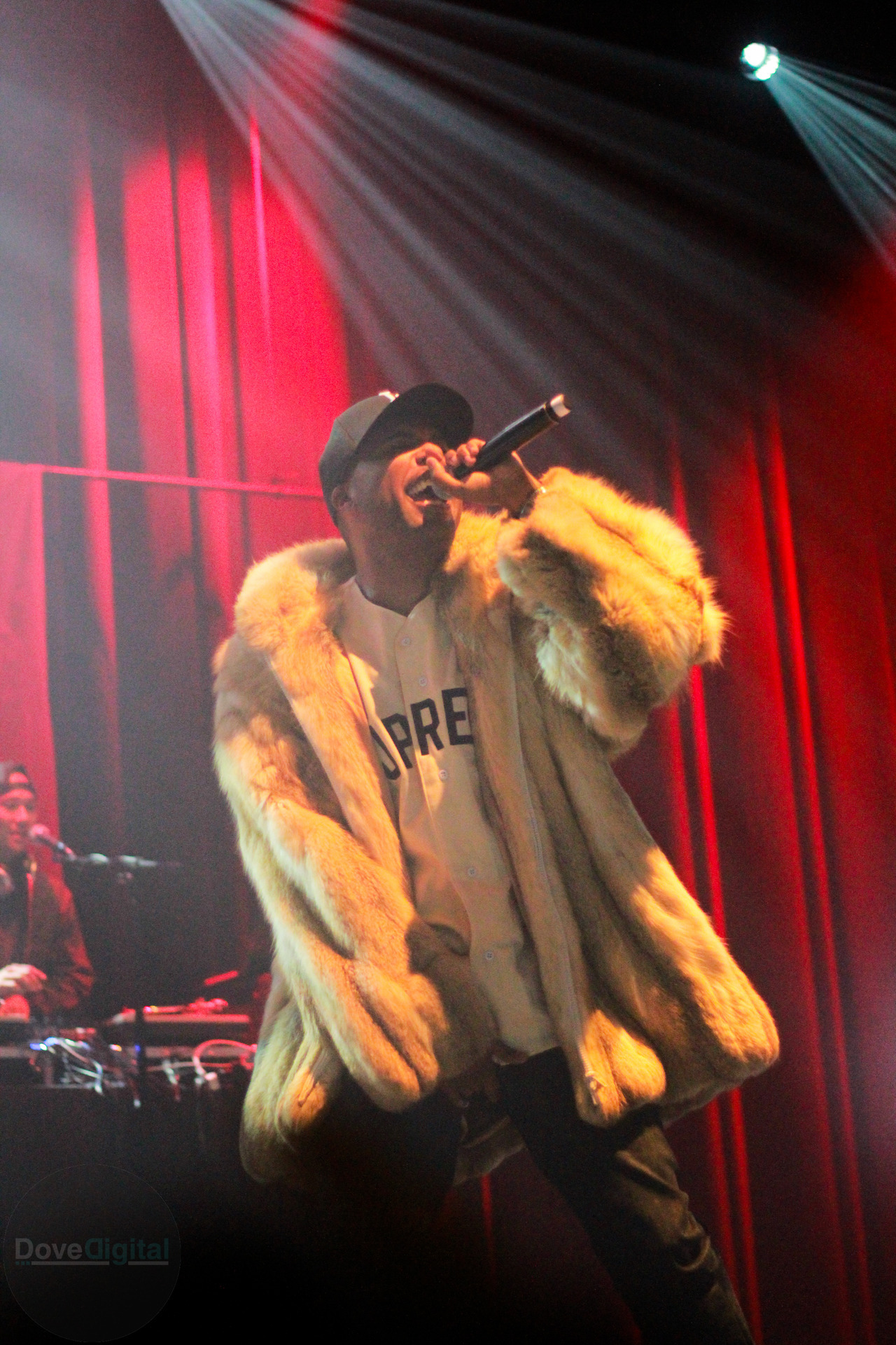 ricksdesigns:  Dom Kennedy with the fur. Shot by Rick Dove