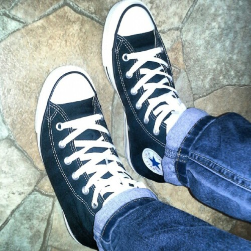 love the feeling of a fresh new pair of converse