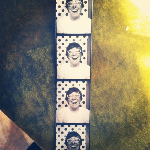 @1234gorecords has a really awesome photo booth.  (at 1-2-3-4 Go! Records)