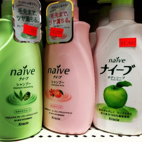 Shampoo for the naive