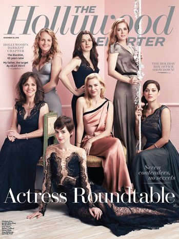 The Hollywood Reporter's Actress Roundtable interview brings together seven amazing stars, and they talk about issues that affect actresses in Hollywood like sexism and ageism.  At the same time, a vital perspective is being glaringly left out, and that is the inclusion of actresses of color. It's hard to believe that it's 2012, and women of color are still not being included at the table.