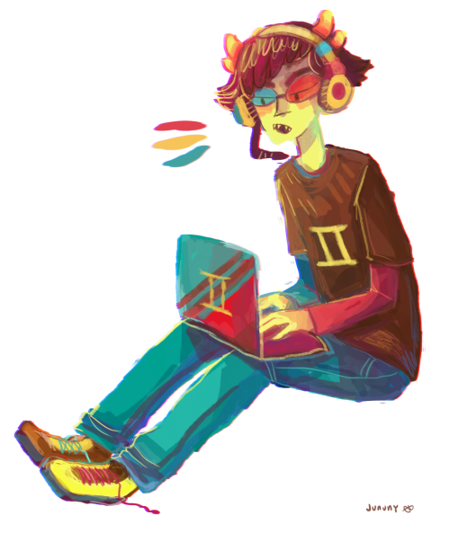 jununy:  sollux is one of my favourite trolls but i rarely draw him so no one knows