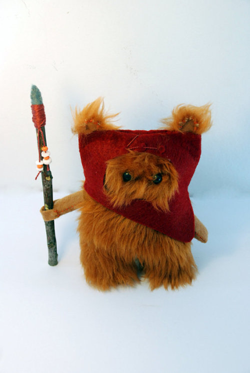 So… Ewoks can be cute. Once in a while. Etsy