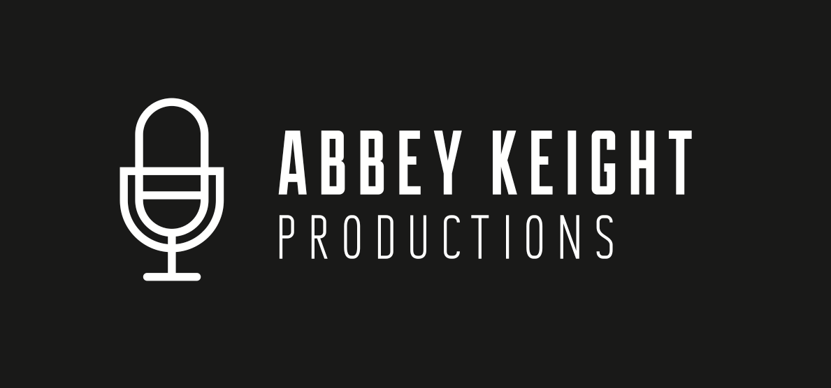Logo for Abbey Keight Productions. They write, produce, mix and master music.