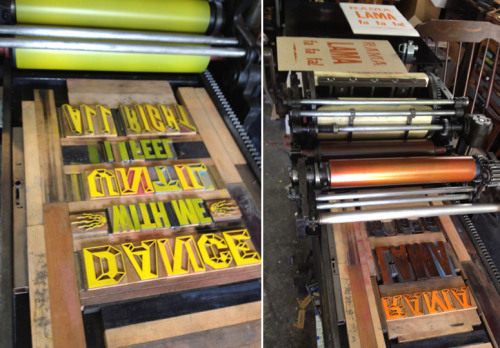 Wish Diamonds interview featuring Don Kilpatrick. Letterpress, woodtype and fine art. Read more here.