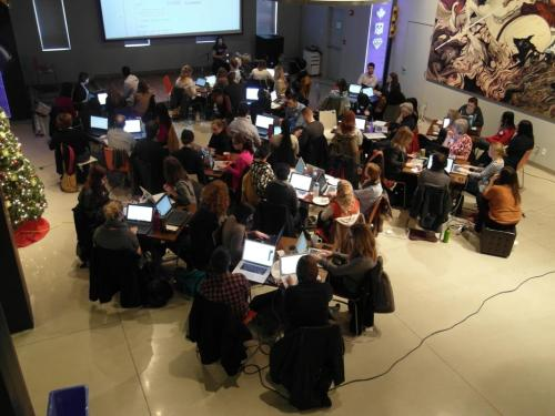 Ladies Learning Code Ottawa Lots of fun yesterday at Ladies Learning Code at Shopify. The learning was impressively effective — in only 6 hours we learned how to create a website and built one too! Simply learning what all the tags meant and how to use css was key. Most of what I had known had come through googling code, but to get a comprehensive explanation of how html and css work opened everything up. Now I can make all the things that I have wanted to make! Can't wait for the next one :)