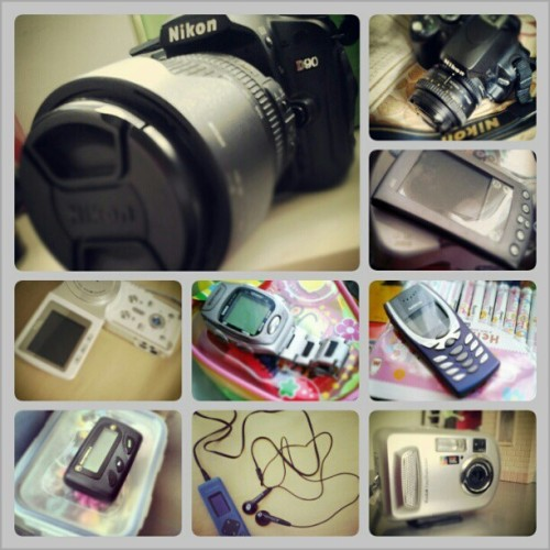 My Gadgets then and now…