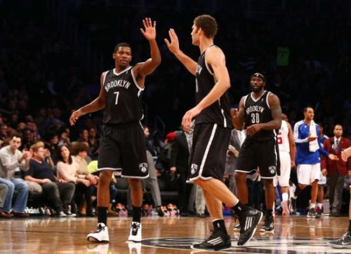 thebrooklynnets:  11.23.12 x vs. the clippers