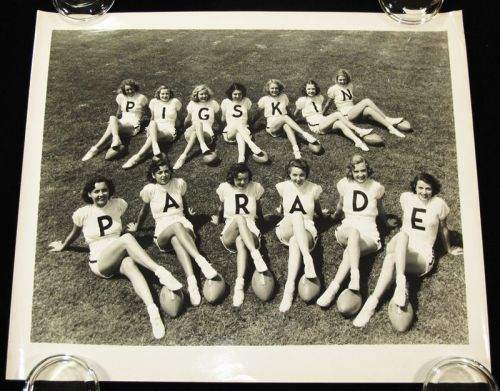(via Pigskin Parade Football Musical Film Showgirls Pin-Up Photograph 1936)
