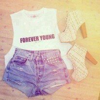 Lets stay forever young,