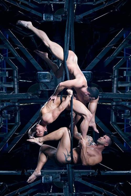 Jesse Santana @KyleSantana ,Adam Killian doing acrobatic photoshoot