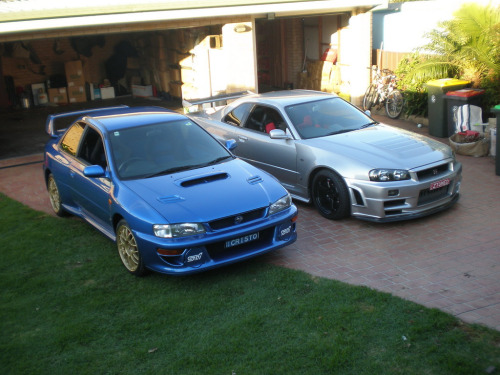 gdbracer:  Damn, I want both!!!!  GC8 and R34  We want them both too!!
