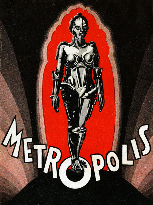 Poster illustration for the American release of Metropolis (1927)