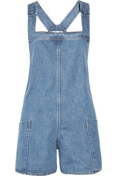 chanelanddiamondsohmy:  STELLA MCCARTNEY Dungaree-style denim playsuit