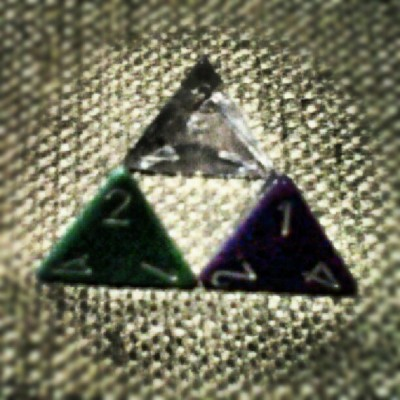 I made myself a triforce (at Dungeon)