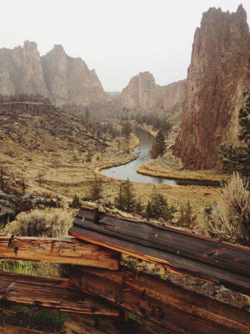 the-distillery:   Smith Rock, Oregon   you guys, this is my home.  YOU GUYS I'M GOING HOME