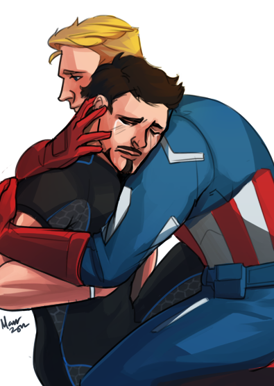 ironfries:  Another commission! Commissioner wanted H/C SteveTony this time.