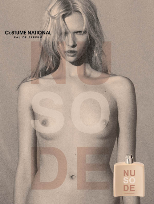 leforetenchante:                    Alyona Subbotina for So Nude by Costume National.