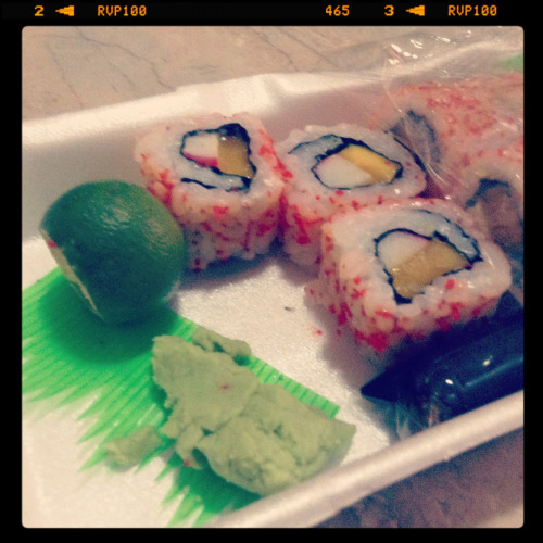 I'm craaaaaving for California Maki. 😍😺🙀