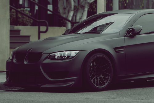 johnny-escobar:  Matte Black E92 M3