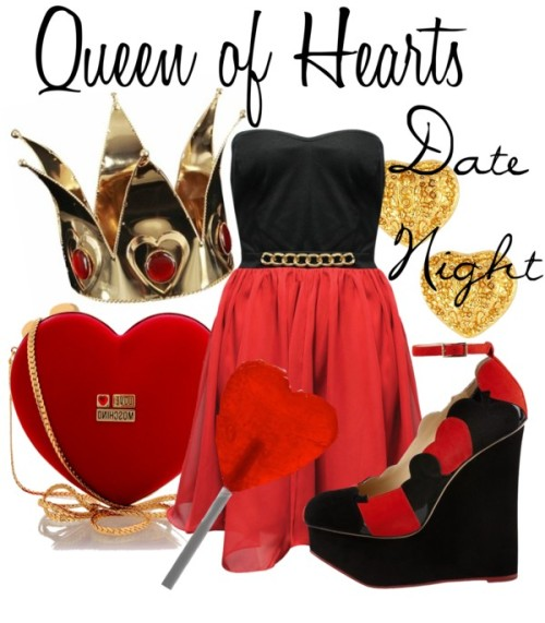 Queen of Hearts- Date Night by everythingisdisney