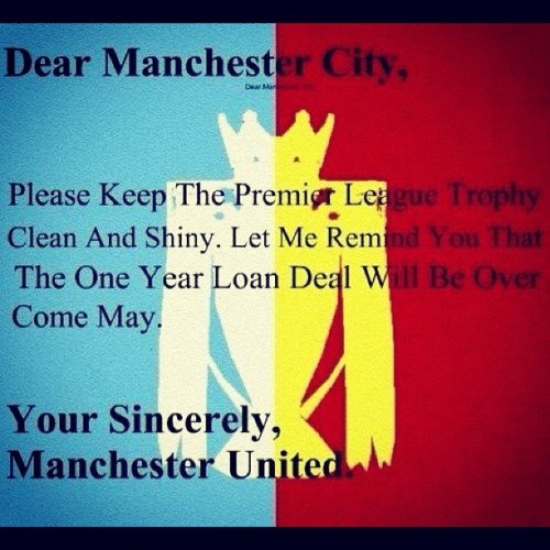 dear city #MUFC #ManUnited #instagood #instapict #instagram #pictoftheday
