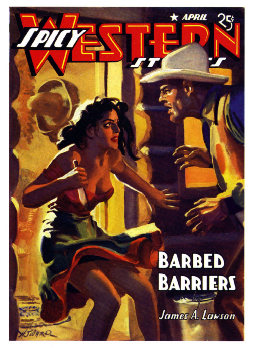 Barbed Barriers, 1942, H.J. Ward (by paul.malon)