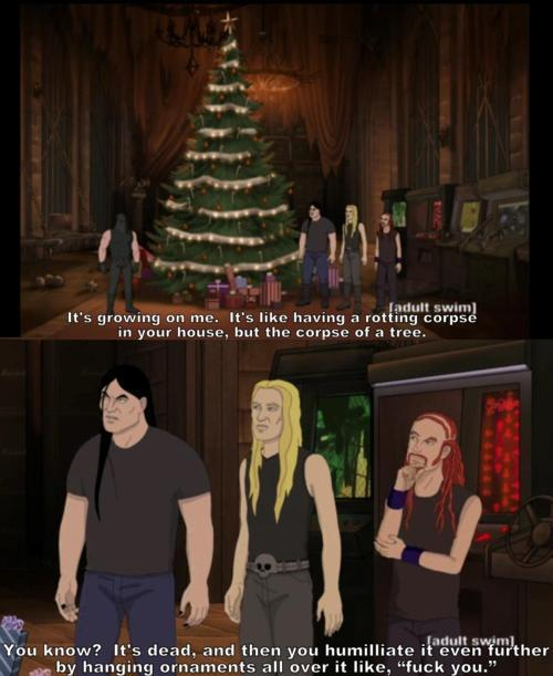 A very Metalocalypse Christmas