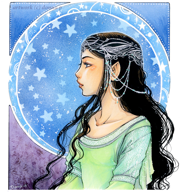 onceuponahobbit:  Young Undomiel by *meadow-rue