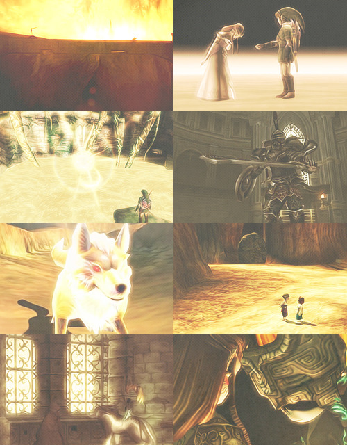 COLOUR PICSPAM - The Legend of Zelda in gold.