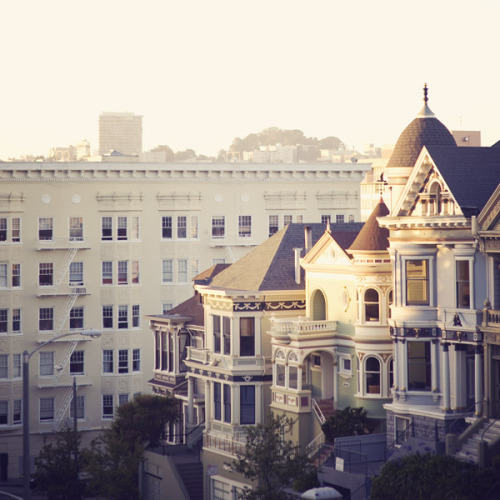 dreamguide:  Alamo Square, San Francisco