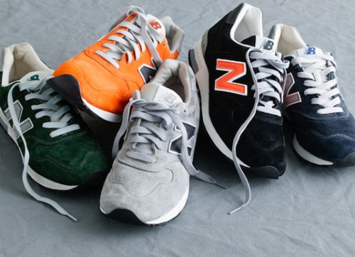 dressshoesandsneakers:  New Balance x J.Crew M1400 Color variations